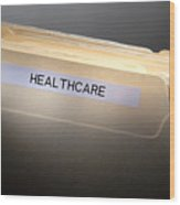 Healthcare Wood Print
