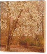 Hear The Silence - Holmdel Park Wood Print
