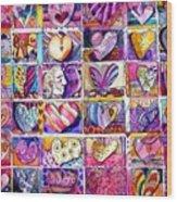 Heart 2 Heart Wood Print