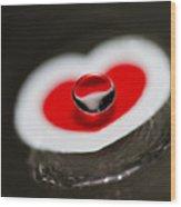 Heart Ache Wood Print