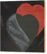 Heart Blocker Wood Print