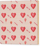 Heart Jp09 Wood Print