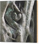 Heart In The Temple Tree, Valparai Wood Print