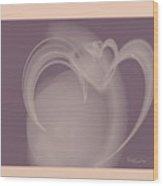 Heart Jug Wood Print