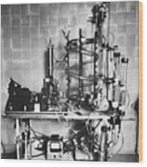 Heart-lung Machine, 20th Century Wood Print by