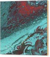 Heart Of The Sea Wood Print