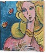 Heart Of Venus Wood Print