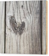 Heart Of Wood Wood Print