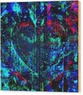 Heart Potential Wood Print
