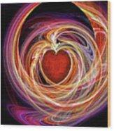 Heart Throb Wood Print