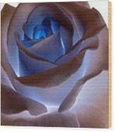 Heartglow Rose Wood Print