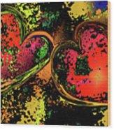 Hearts Adrift Wood Print