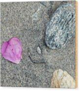 Hearts In Westport Wood Print
