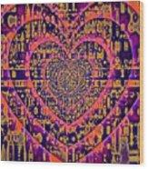 Hearts International Wood Print