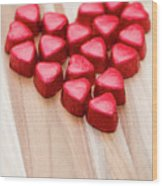 Hearty Heart Wood Print