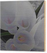 Heather's Flowers Wood Print