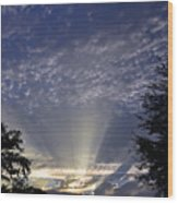 Heaven On Earth Wood Print