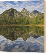 Heaven Unfolded Wood Print by Mike  Dawson
