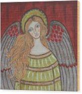 Heavenly Angel Wood Print