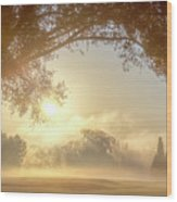 Heavenly Arch Sunrise Wood Print