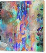 Heavenly Cosmos Series 1993.033014invert Wood Print