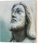 Heavenly Father, Jesus Christ Inspirational Wood Print