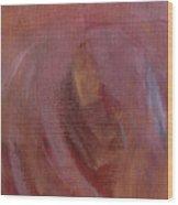 Heavenly Heart Detail Wood Print