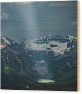 Heavenly Lake Louise Wood Print