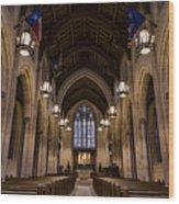Heavenly Rest Sanctuary Wood Print