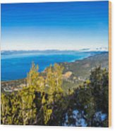 Heavenly South Lake Tahoe View 1 - Right Panel Wood Print