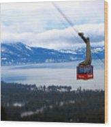 Heavenly Tram South Lake Tahoe Wood Print