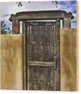 Heaven's Door Wood Print