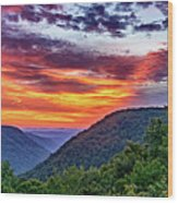 Heaven's Gate - West Virginia 2 Wood Print