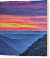 Heaven's Gate - West Virginia 6 Wood Print