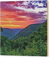 Heaven's Gate - West Virginia - Paint Wood Print