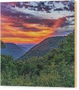Heaven's Gate - West Virginia Wood Print