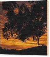 Heaven's Gold  Wood Print