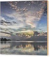 Heaven's Light - Coyaba, Ironshore Wood Print