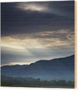 Heaven's Light Wood Print by Andrew Soundarajan