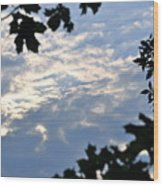 Heaven's Portal Wood Print