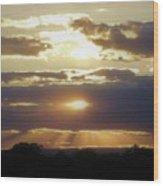 Heaven's Rays 2 Wood Print