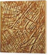 Heavenward- Tile Wood Print