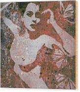 Heavy Crown - Red Wood Print