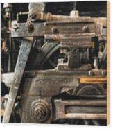 Heavy Wheel Wood Print