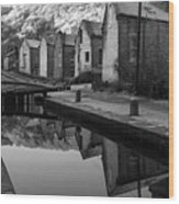 Rochdale Canal, Yorkshire, England Wood Print