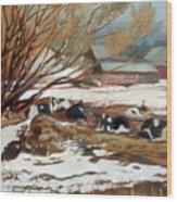 Heber Dairy Wood Print