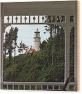Heceta Lighthouse Wood Print