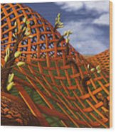 Hedera Ferrugo Wood Print