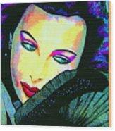 Hedy Lamarr Wood Print