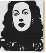 Hedy - Touching The Sublime Wood Print